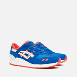 ASICS Gel Lyte III GS Teen Sneakers Strong Blue/White photo- 1