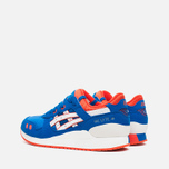 ASICS Gel Lyte III GS Teen Sneakers Strong Blue/White photo- 2