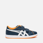Детские кроссовки Onitsuka Tiger Larally PS Navy/White фото- 0