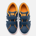 Детские кроссовки Onitsuka Tiger Larally PS Navy/White фото- 4