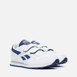 Детские кроссовки Reebok Classic Leather POP SC 2V RSA White/Club Blue фото- 1