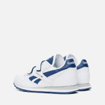 Детские кроссовки Reebok Classic Leather POP SC 2V RSA White/Club Blue фото- 2