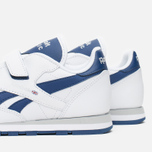 Детские кроссовки Reebok Classic Leather POP SC 2V RSA White/Club Blue фото- 5