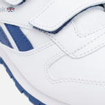 Детские кроссовки Reebok Classic Leather POP SC 2V RSA White/Club Blue фото- 7