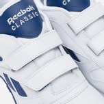 Детские кроссовки Reebok Classic Leather POP SC 2V RSA White/Club Blue фото- 6