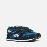 Детские кроссовки Reebok GL 1500 Handy Blue/Black/Oatmeal/White/Glass Green фото- 1
