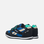 Детские кроссовки Reebok GL 1500 Handy Blue/Black/Oatmeal/White/Glass Green фото- 2