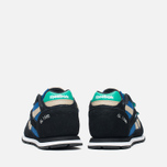 Детские кроссовки Reebok GL 1500 Handy Blue/Black/Oatmeal/White/Glass Green фото- 3