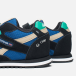 Детские кроссовки Reebok GL 1500 Handy Blue/Black/Oatmeal/White/Glass Green фото- 5
