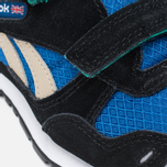 Детские кроссовки Reebok GL 1500 Handy Blue/Black/Oatmeal/White/Glass Green фото- 7