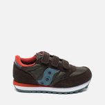 Детские кроссовки Saucony B Jazz Triple HL Brown/Blue фото- 0
