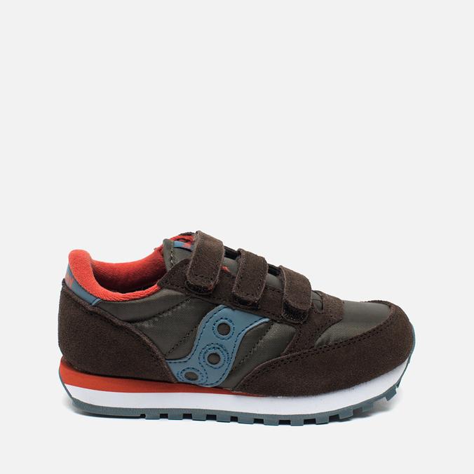 Saucony B Jazz Triple HL Children's Sneakers Brown/Blue