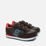Детские кроссовки Saucony B Jazz Triple HL Brown/Blue фото- 1