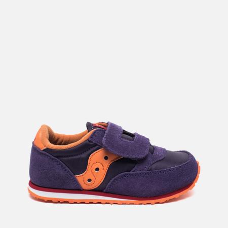 Saucony G Jazz Triple HL Children's Sneakers Purple/Orange