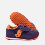 Детские кроссовки Saucony G Jazz Triple HL Purple/Orange фото- 2