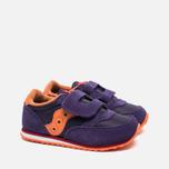 Детские кроссовки Saucony G Jazz Triple HL Purple/Orange фото- 1