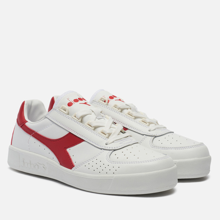 Кроссовки Diadora B. Elite White/Ferrari Red Italy