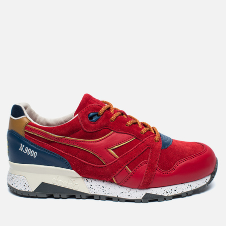 Diadora x UBIQ N.9000 Sneakers Red Ribbon