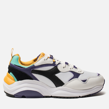 Кроссовки Diadora Whizz Run White/Black/Mulberry Purple