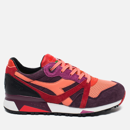 Diadora x Extra Butter N9000 Sneakers Giallo Red/Lollipop