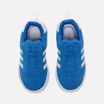 Кроссовки для малышей adidas Originals Gazelle 360 Infant Blue/White фото- 4