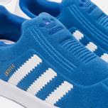 Кроссовки для малышей adidas Originals Gazelle 360 Infant Blue/White фото- 5