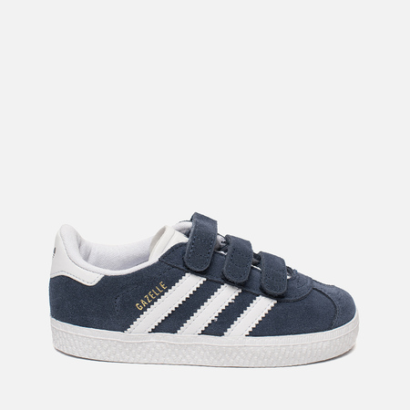 Кроссовки для малышей adidas Originals Gazelle CF Infant College Navy/Running White/Running White