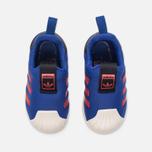 Кроссовки для малышей adidas Originals Superstar 360 Infant Mystery Ink/Tactile Red/Gold Metallic фото- 4
