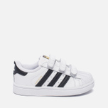 Кроссовки для малышей adidas Originals Superstar Infant White/Core Black/White фото- 0