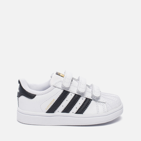 Кроссовки для малышей adidas Originals Superstar Infant White/Core Black/White