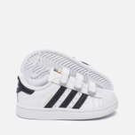 Кроссовки для малышей adidas Originals Superstar Infant White/Core Black/White фото- 1
