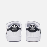 Кроссовки для малышей adidas Originals Superstar Infant White/Core Black/White фото- 3