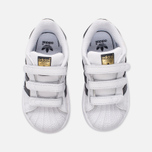 Кроссовки для малышей adidas Originals Superstar Infant White/Core Black/White фото- 4
