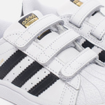 Кроссовки для малышей adidas Originals Superstar Infant White/Core Black/White фото- 5