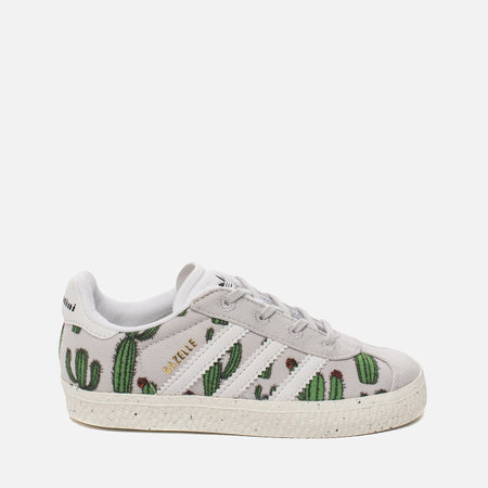 Кроссовки для малышей adidas Originals x Mini Rodini Gazelle Infant Grey/Running White/Off White
