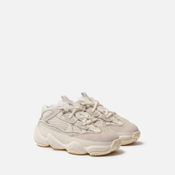Кроссовки для малышей adidas Originals YEEZY 500 Infant Bone White/Bone White/Bone White