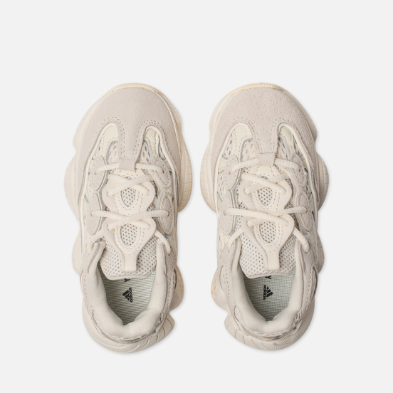 Кроссовки для малышей adidas Originals YEEZY 500 Infant Bone White/Bone White/Bone White