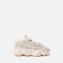 Кроссовки для малышей adidas Originals YEEZY 500 Infant Bone White/Bone White/Bone White фото- 3