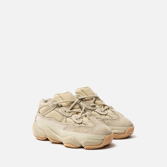 Кроссовки для малышей adidas Originals YEEZY 500 Infant Stone/Stone/Stone