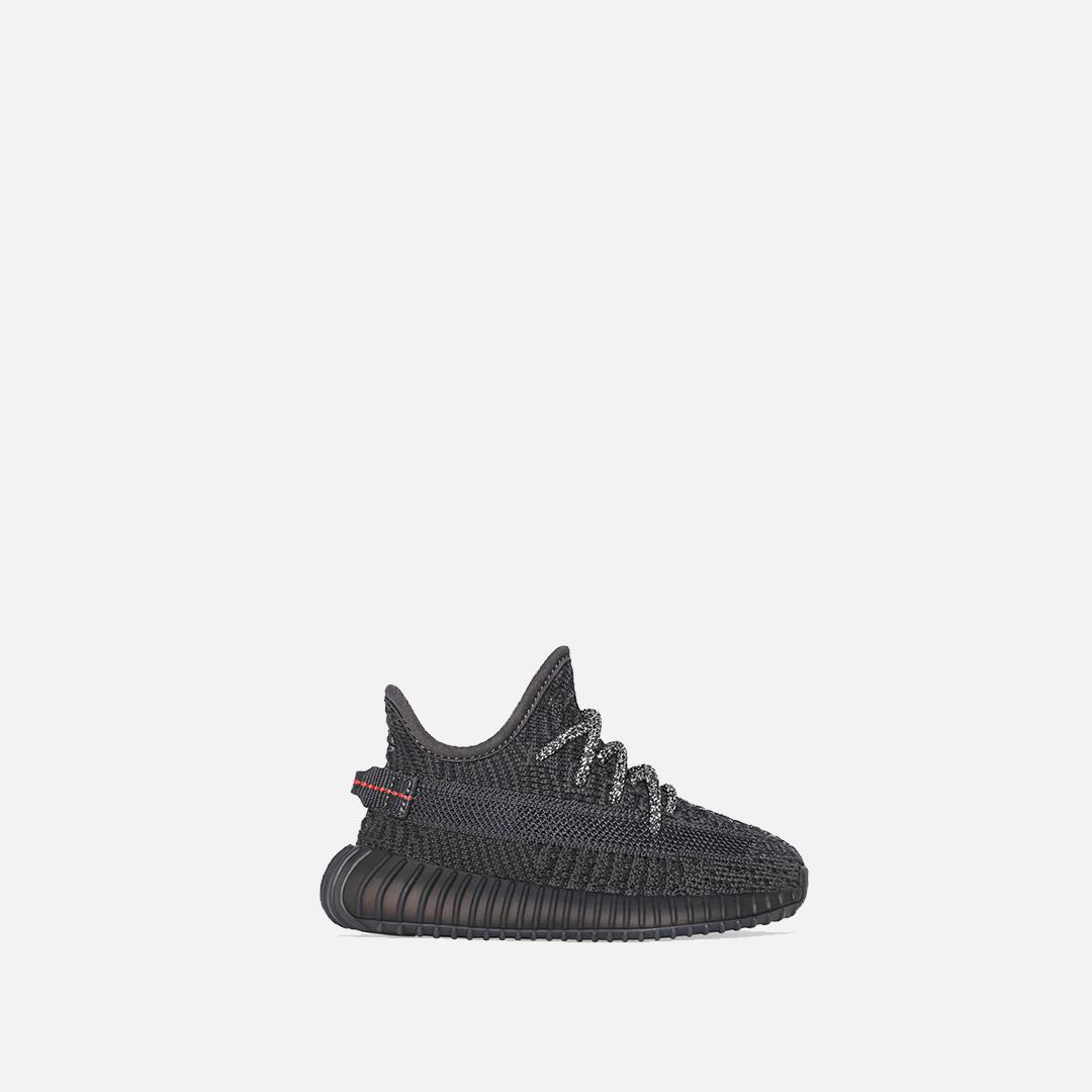 Кроссовки для малышей adidas Originals Yeezy Boost 350 V2 Infant Black/Black/Black
