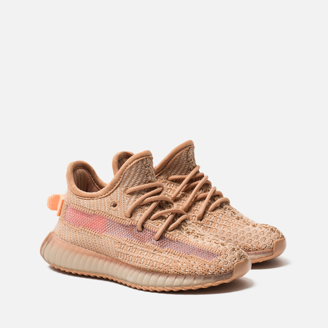 Кроссовки для малышей adidas Originals YEEZY Boost 350 V2 Infant Clay/Clay/Clay