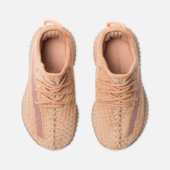 Кроссовки для малышей adidas Originals YEEZY Boost 350 V2 Infant Clay/Clay/Clay