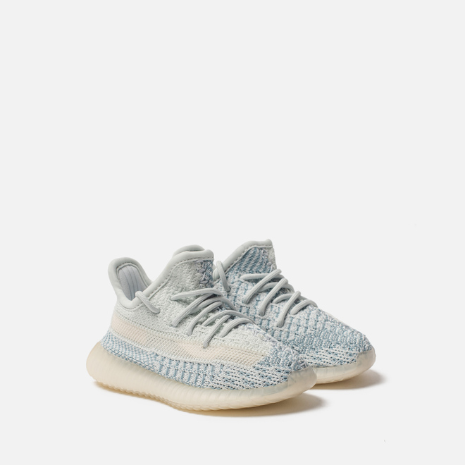 Кроссовки для малышей adidas Originals YEEZY Boost 350 V2 Infant Cloud White/Cloud White/Cloud White
