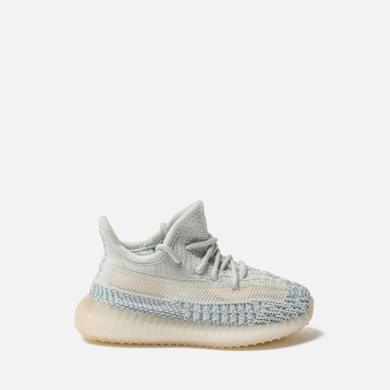 Кроссовки для малышей adidas Originals YEEZY Boost 350 V2 Infant Cloud White/Cloud White/Cloud White
