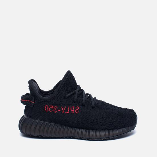 Кроссовки для малышей adidas Originals YEEZY Boost 350 V2 Infant Core Black/Core Black/Red