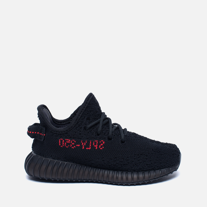 Кроссовки для малышей adidas Originals Yeezy Boost 350 V2 Infant Core Black/Core Black/Red