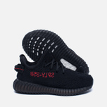 Кроссовки для малышей adidas Originals Yeezy Boost 350 V2 Infant Core Black/Core Black/Red фото- 1