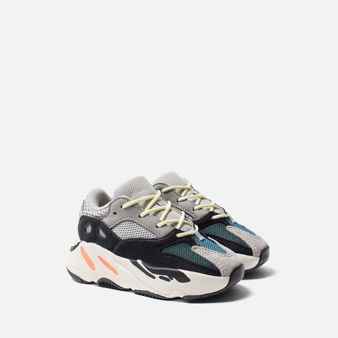 Кроссовки для малышей adidas Originals Yeezy Boost 700 Infant Solid Grey/Chalk White/Core Black