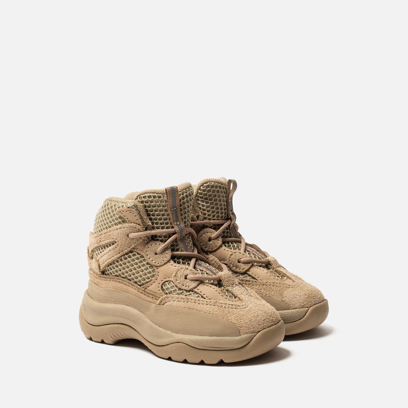 Кроссовки для малышей adidas Originals Yeezy Desert Boot Infant Rock/Rock/Rock