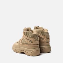 Кроссовки для малышей adidas Originals Yeezy Desert Boot Infant Rock/Rock/Rock фото- 2